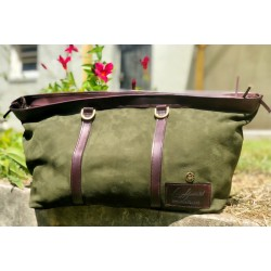 Deerskin Overnight Bag -...