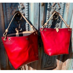 "The ""Wendy"" Tote in Red"