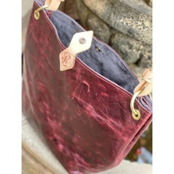 "The ""Wendy"" Tote in Wine"