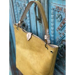 "The ""Wendy"" Tote in Mustard"